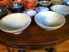 Elegant serving bowls