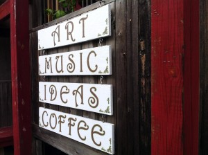 art music ideas coffee sign in floyd va