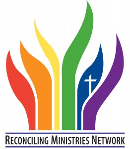 logo for the Reconciling Ministries Network